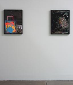 Astro Bright #1 (left) and Astro Bright #2 (right), installation view