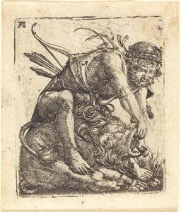 Hercules Overcoming the Nemean Lion
