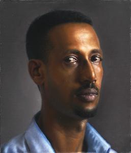 Man in a Blue Shirt