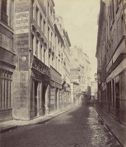 Rue des Bourdonnais de la rue de Rivoli