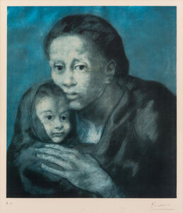 Mere et enfant au fichu (Mother and Child with Shawl) (from Barcelona Suite)