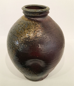 Wood Fired, Stoneware Vase
