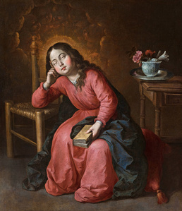 Virgen Niña dormida (The Virgin Mary as a Child, Asleep)