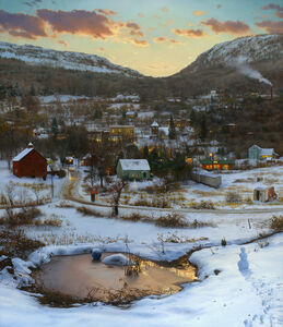 Valley in Winter