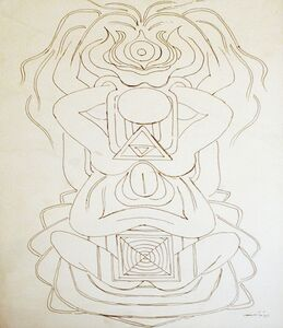 Untitled (Tantric Drawing 6)