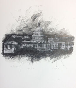 United States Capitol, Study #1