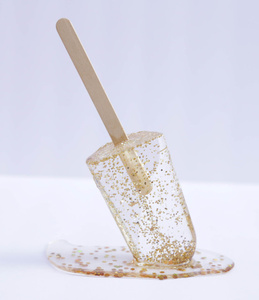 Gold Flake Popsicle