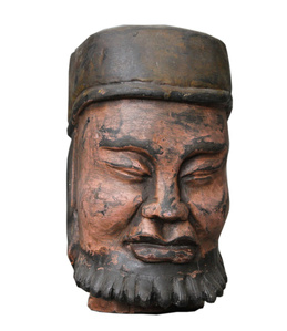 Wooden Head 33