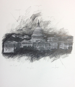United States Capitol, Study #1