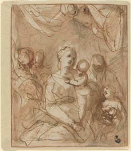 The Virgin and Infant Jesus with Saints