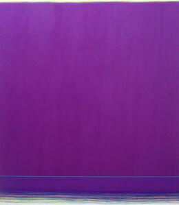 Infinite Space (violet-turquoise) II