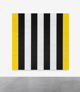 Untitled (Yellow, Black, White, Beveled)