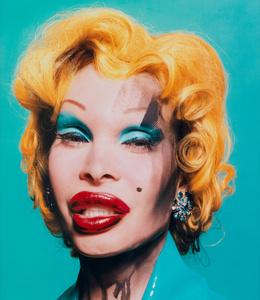 Amanda as Warhol's Marilyn