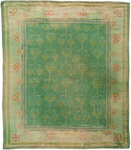 Vintage Irish Donegal Rug, BB5442
