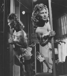 Veronica Lake in Paramount Wardrobe Department
