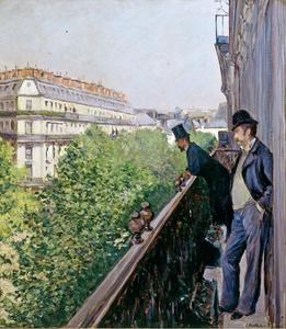 Balcony, Boulevard Haussmann
