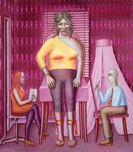 La séance de portrait / Die Porträtsitzung