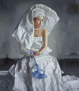 White Paper Bride, the City in Mist