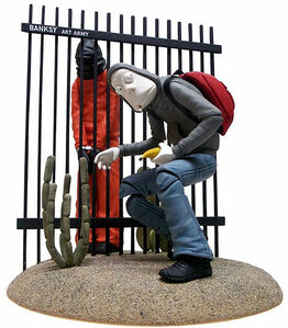 SALE! 'Jailbreak Collective - BANKSY'. OUR RETAIL: $395
