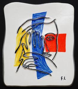 Visage aux deux mains (Face with Two Hands)