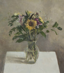 Still Life with Sunflower I