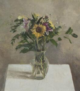 Still Life with Sunflower I