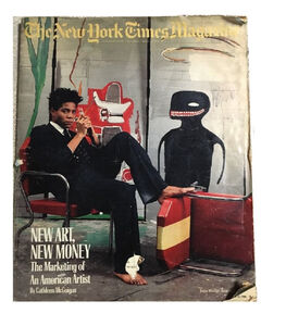 """New Art. New Money"" New York Times Magazine."
