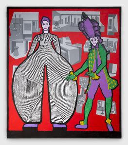 David Bowie and Teresa Cornelys