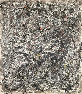 Portrait of V.I. Lenin in the Style of Jackson Pollock V