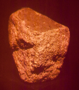 A Meteorite That Fell That Fell Through a Roof in Strathmore, Scotland, fragment 1a