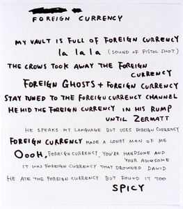 Untitled (Foreign Currency)