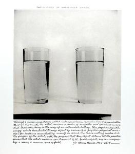 """""""Dos vasos con agua magnetizada"""""""