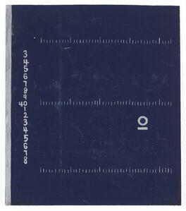 """""""Centimètre"""" Study for a Rug Design for E-1027"""