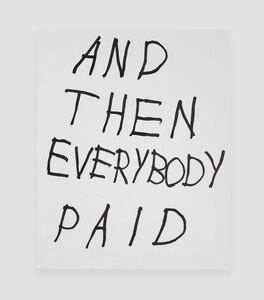 AND THEN EVERYBODY PAID