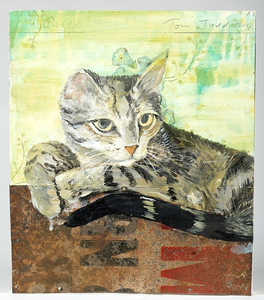 """Casey (created exclusively for the """"Patrick Eddington Cat Project"""", and gifted to Eddington)"""