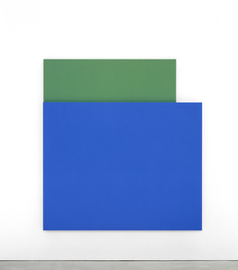 Blue Relief over Green