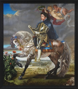 Equestrian Portrait of King Philip II (Michael Jackson)