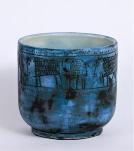 Cache-Pot Bleu