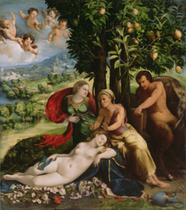 Mythological Scene