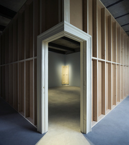 Corner Door and Doorframe (Installation view)