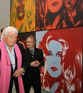 Hommage à Warhol (Claudia Schiffer)