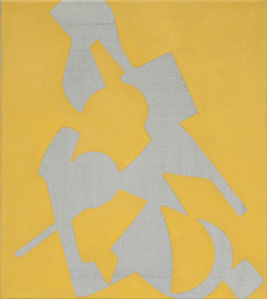 Untitled (Shape Painting, Yellow)