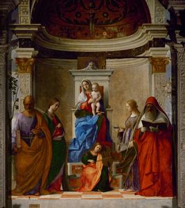 San Zaccaria Altarpiece, Sacra Conversazione