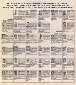 Dar la cara (24 paramilitares desmovilizados por segundo)