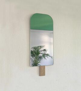 Ice Cream Mirror- Exotic Green