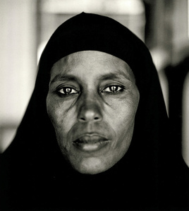 Abshiro Aden Mohammed, Women's Leader, Somali Refugee Camp, Dagahaley, Kenya, 2000, from the series A Camel for the Son.