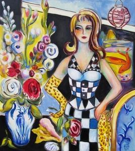 Checkerboard Dress