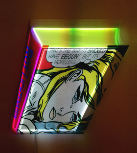 Transformed Book - Lichtenstein