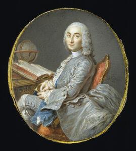 Miniature Portrait of César François Cassini de Thury