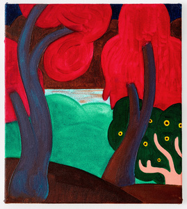 Untitled (Red Trees)